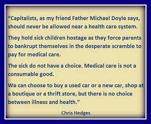 Capitalists Should Never Be Allowed Near A Healthcare System