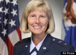Maj. Gen. Mary Kay Hertog, the previous director of the Pentagon's Sexual Assault Prevention and Response Office. Hertog, the first general to hold the position, retired Monday, Oct. 1.