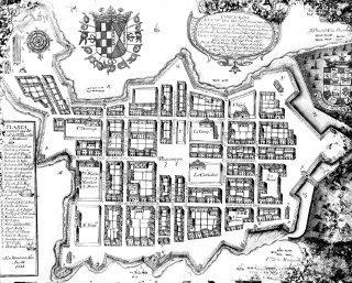 Fernando Saavedra. Mapa de Panamá. 1688.