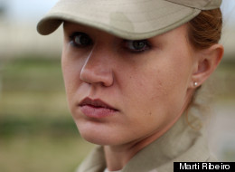 Marti Ribeiro, 33, served over eight years in the U.S. military as a combat correspondent. Seven months before her service was up, she was raped by a fellow service member but decided to not pursue charges in order to get home faster and because she was told that she instead would be charged.